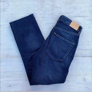 NWT Zara authentic denim by TRF high rise jeans
